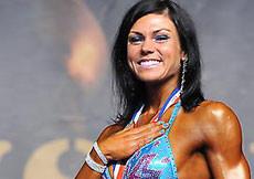 2014 Majstrovstvá Európy, bodyfitness nad 168cm