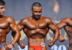 2014 Majstrovstvá Európy, kulturistika, juniori nad 75kg