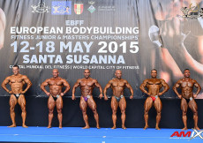 2015 EBFF Championships - Bodybuilding 85kg