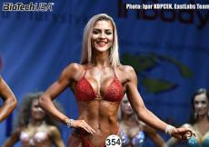 2016 World Fitness - Bikini 166cm