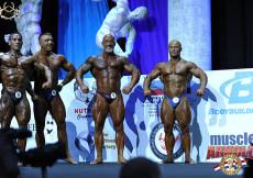 2014 AC USA Bodybuilding Masters prejudging final