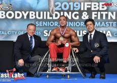 Wheelchair Bodybuilding - 2019 European Championships
