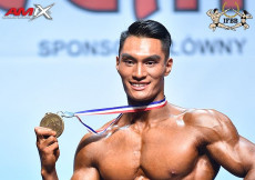 2018 World Fitness - Mens Physique 179cm