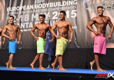 2015 EBFF Championships - Junior Mens Physique 170cm