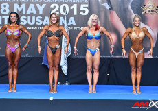 2015 EBFF Championships - Womens Fitness over 163cm