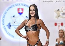 2017 Majstrovstvá Slovenska - bikini 172cm plus