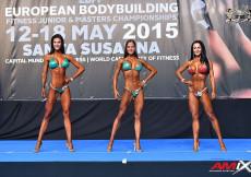 2015 EBFF Championships - Junior Bikini Overall