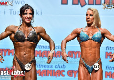 2018 World Fitness - Womens Physique nad 163cm