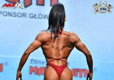 2018 World Fitness - Bodyfitness 168cm