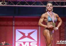 2017 EVLS Prague - Bodyfitness 163cm