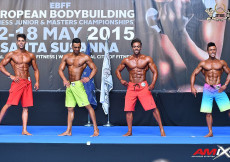 2015 EBFF Championships - Mens Physique Overall