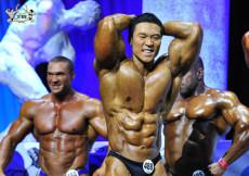 Bodybuilding up to 100kg prejudging