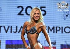 2015 Latvian Championships - Fitness Bikini up to 166cm
