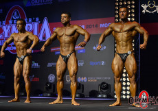 2014 Olympia Amateur Moscow - Final 70kg