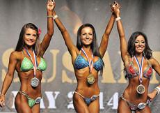 2014 Majstrovstvá Európy, bikini do 160cm