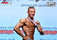 2018 World Fitness - Mens Physique 173cm