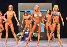 2014 Pohárová súťaž - bikini fitness 1