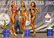 2014 Majstrovstvá Slovenska - bodyfitness juniorky
