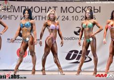 2015 Moscow Champ - Fitness Bikini 166cm