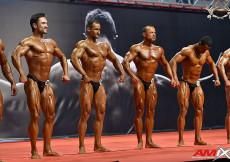 2014 World Classic, Alicante - prejudging 175cm
